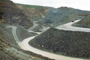 Mine d'or Salsigne