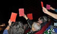 carton rouge pour Rousset
