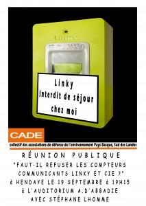 Réunion pubique Hendaye  19 09 2016
