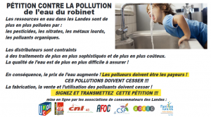 Capture EAU pollution LANDES