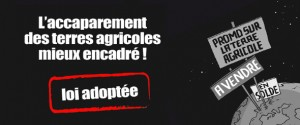 accapparement terres agricoles